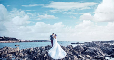 Foreign fashion wedding photography
